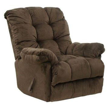 Chaise Rocker Recliner in Umber