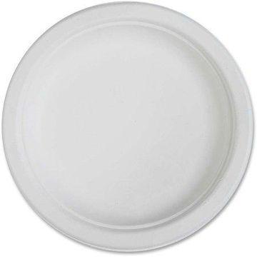Genuine Joe Compostable Plates, 6