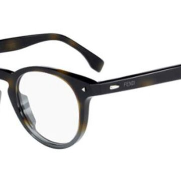 Fendi FF 0219 FENDI SUN FUN 21B Men's Glasses Tortoiseshell Size 47 - Free Lenses - HSA/FSA Insurance - Blue Light Block Available