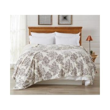 Home Fashions Designs Berber Velvet Plush Luxury Full / Queen Bed Blanket Bedding