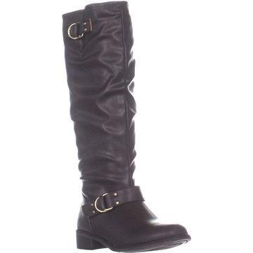 Xoxo Womens Minkler Closed Toe Knee High Fashion Boots