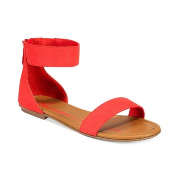 American Rag Womens akeley Fabric Open Toe Casual Ankle Strap