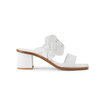 Lafayette 148 New York Jules Woven Leather Mules
