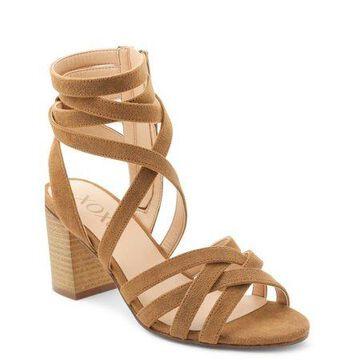 XOXO Women's Eden Strappy Block Heel Sandals