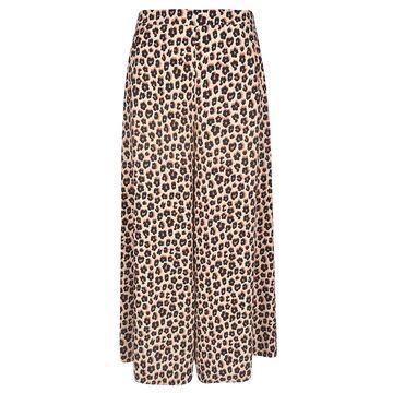 Vivetta Animal Print Wide Long Trousers