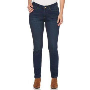 Rafaella Women's Denim With Benefits Skinny Jeans - Dark Azure -