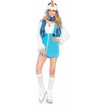 Leg Avenue Women's Cozy Snowman Costume