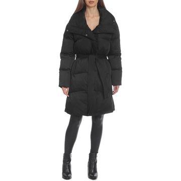 Avec Les Filles Midi Wrap Puffer Coat