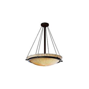 Porcelina Bowl Suspension by Justice Design Group