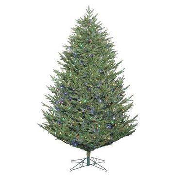 Vickerman 7.5' Deluxe Frasier Fir Artificial Christmas Tree, Unlit