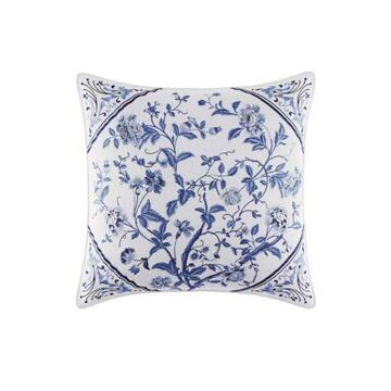 Laura Ashley Women Charlotte Embroidered Square Pillow -