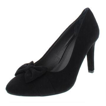 Rialto Womens Carol Faux Suede Pumps Dress Heels