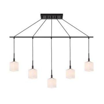 Woodbridge Lighting 18429 Langston 5-light Linear Pendant