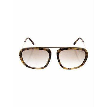 Aviator Gradient Sunglasses Brown