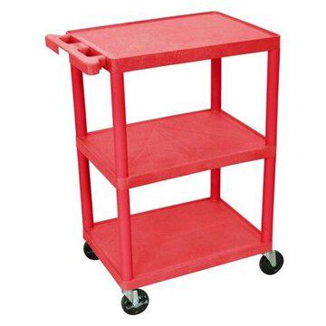 Luxor 3-Shelf Utility Cart