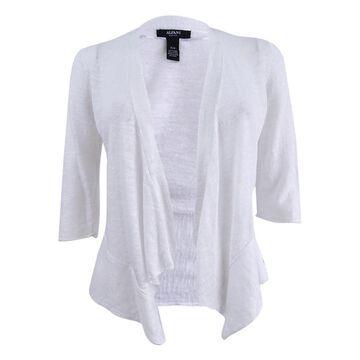 Alfani Women's Petite Open-Front Cardigan