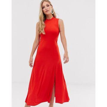 Y.A.S high neck maxi dress