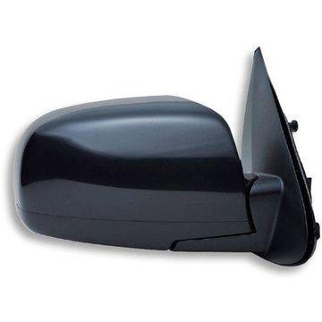 65013Y - Fit System Passenger Side Mirror for 07-12 Hyundai Santa Fe, black, PTM, foldaway, Heated Power