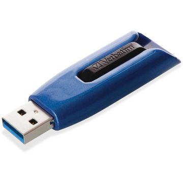 Verbatim V3 MAX USB 3.0 Drive 256GB Blue/Black 49809