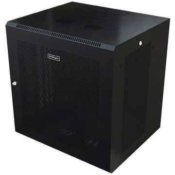 StarTech.com 9U Wall Mount Server Rack Cabinet - Wall Mount Network Cabinet - Up to 20.8 in. Deep