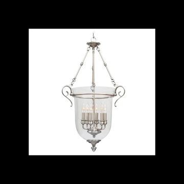 Livex Lighting 5023 Legacy 6 Light Pendant Brushed Nickel Indoor Lighting Pendants