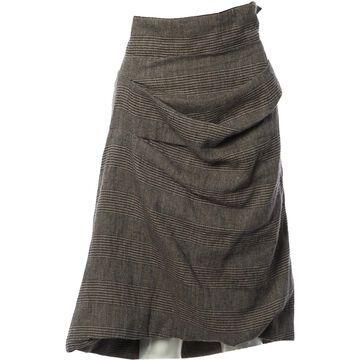 Dries Van Noten Multicolour Wool Skirts
