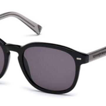 Ermenegildo Zegna EZ0005 05A Men's Sunglasses Black Size 52