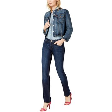 DL1961 Womens Coco Straight Leg Jeans