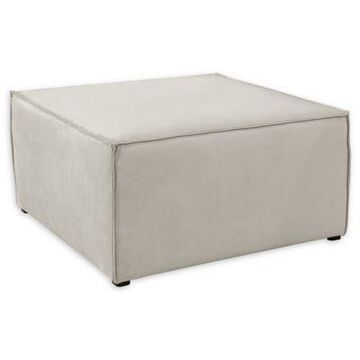 Skyline Furniture Kenia Ottoman in Grey