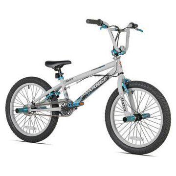 Razor Barrage 20-Inch Boy's Bicycle in White/Black