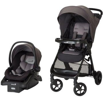 Safety 1st Smooth Ride Travel System Stroller with OnBoard 35 LT Infant Car Seat, Monument