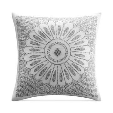 """Ink+Ivy Sofia Embroidered 20"""" Square Decorative Pillow Bedding"""