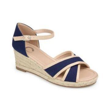 Journee Collection Women's Brene Espadrille Wedges Women's Shoes