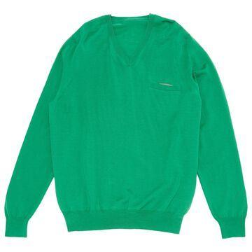 Sacai Green Wool Knitwear & Sweatshirts