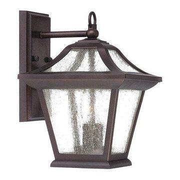ACCLAIM LIGHTING 39012ABZ Wall Light,Arch,Bronze,2-Light