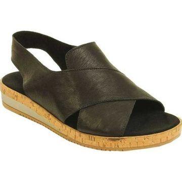 Sesto Meucci Women's Sylke Slingback Black Old West Leather