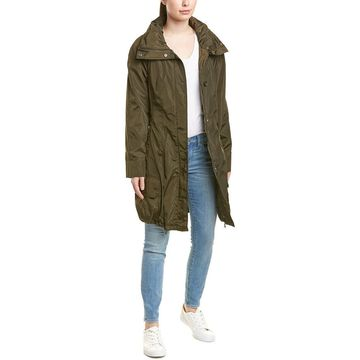 Marc New York Womens Bubble Trench Coat