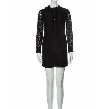 Long Sleeve Mini Mini Dress Black