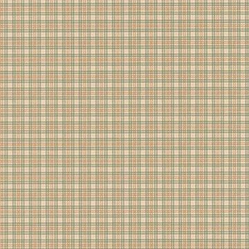 Brewster Tartan Green Plaid Wallpaper