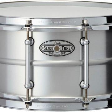 Sensitone Beaded Seamless Aluminum Snare Drum 14 x 6.5 in.