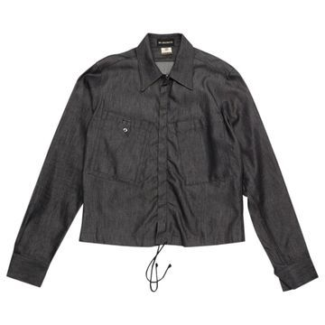 Ann Demeulemeester Anthracite Cotton Jackets