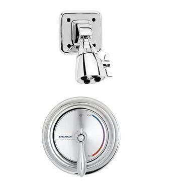 Speakman Sentinel Mark II Polished Chrome 1-Handle Shower Faucet with Valve | SM-3020