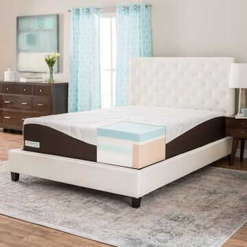 ComforPedic from Beautyrest 14-inch Gel Memory Foam Mattress (California King - Medium)