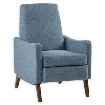 INK+IVY Dannon Recliner Chair in Blue