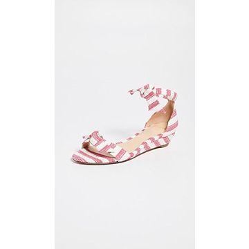 Alexandre Birman Clarita Demi 35mm Wedge Sandals