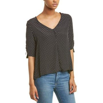 Three Dots Womens 3/4-Sleeve Top