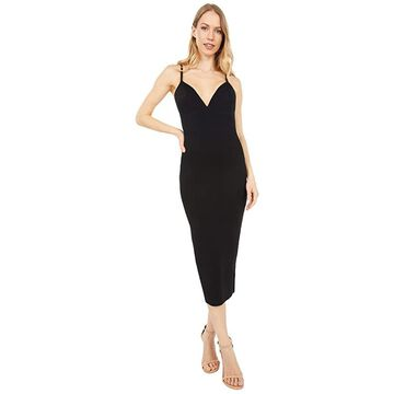 Bardot Liz Knit Dress (Black) Women's Clothing