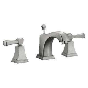 Design House 522052 Double Handle Widespread Bathroom Faucet w/ Metal