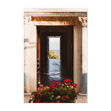 Noir Gallery Amalfi Coastal Italy Ravello Unframed Art Print/Poster