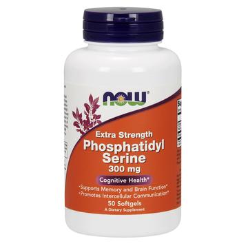 Extra Strength Phosphatidyl Serine 300 mg Now Foods 50 Softgel